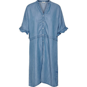 8f754c3f35a9 ΠΟΥΚΑΜΙΣΑ ΦΟΡΕΜΑ ONLY SHIRT DENIM DRESS DENIM BLUE ONLY