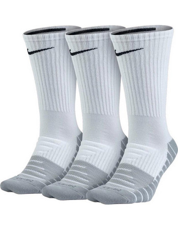 NIKE DRY CUSHION CREW TRAINING SOCK 3PP SX5547-100 Λευκό c4c30f7497a