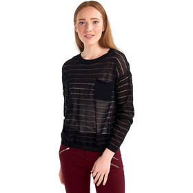 7d193d62e0b7 Πλεκτή μπλούζα με τσέπη - Μαύρο
