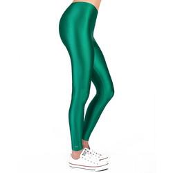 09dee325c2cf PCP - Jacqueline Parrot Leggings Γυαλιστερό Πράσινο Κολάν