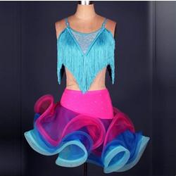 e7c1d1ad6af Γυναικείο φόρεμα Latin χορού L37 7737