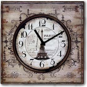 a1474c9b95 Vintage ξύλινο Ρολόι τοίχου Retro Paris 48cm-60cm