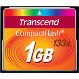 Transcend 1GB Compact Flash MLC 133X