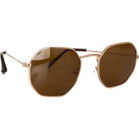 45bb554022 Γυναικεία καφέ γυαλιά ηλιού χρυσός σκελετός Polarized A007W