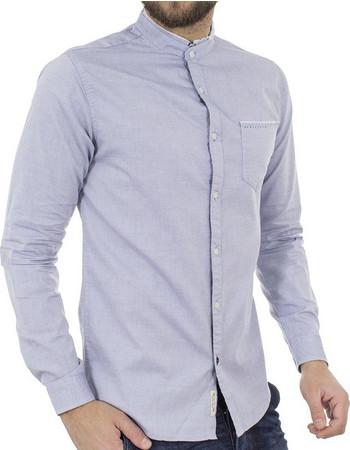 Ανδρικό Μάο Μακρυμάνικο Πουκάμισο Slim Fit Best Choice S185130-5 Γκρι 818a5443c8a