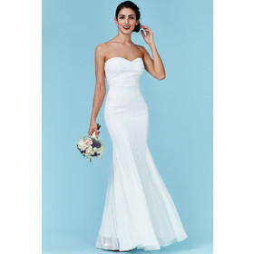 bridal luxe sweetheart φόρεμα degraded paillettes c247ca594a6