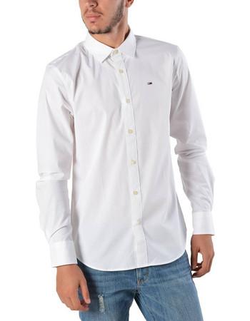 e9122e683d4b Tommy Jeans Original Strech Men s Shirt - Ανδρικό Πουκάμισο DM0DM04405-100