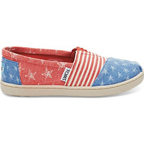 0b36d88deb6 TOMS TOMS CLASSIC RED CANVAS STARS AND STRIPES