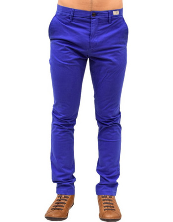 TOMMY HILFIGER CHINO DENTON SLIM FIT SODALITE BLUE