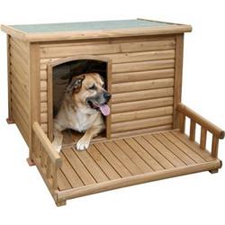 357e105c2be2 Σπίτι σκύλου με βεράντα