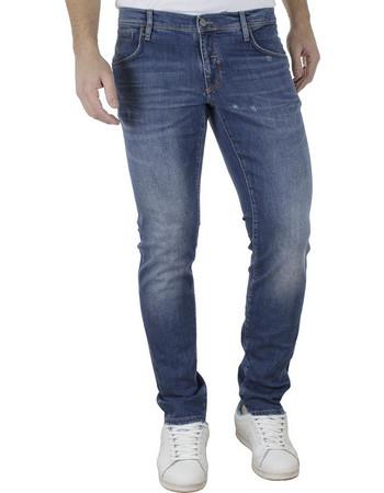 Ανδρικό Τζιν Παντελόνι Slim Fit ANTONY MORATO 1-W00898 Μπλε 94abb425cbf