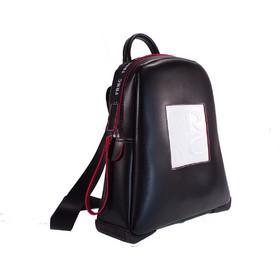 FRNC FRANCESCO Τσάντα Γυναικεία Πλάτης-Backpack 2023 Μαύρο Δέρμα 59150 42e2c03aeae