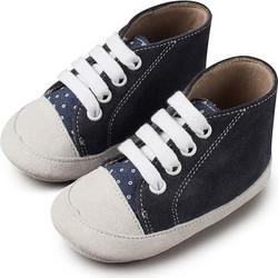 0b07ab22499 Δετό Καστόρινο Μποτάκι Babywalker - Μπλε/Λευκό