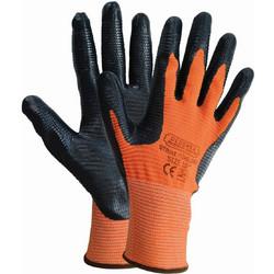 Γάντια εργασίας με ύφασμα και παλάμη με επικάλυψη φυσικού ελαστικού (latex)  1104ELD99 PREMIUM 2ea69e96dca