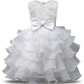 58349f98cf9 Παιδικό Φορεματάκι Γενεθλίων Άσπρο - Meng Baby