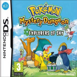 Pokemon Mystery Dungeon Explorers Of Sky - DS