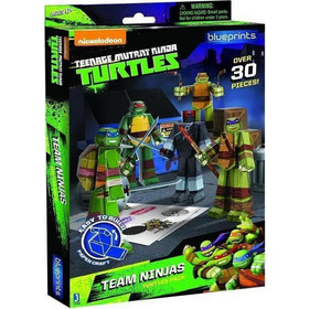 TEENAGE MUTANT NINJA TURTLES - TEAM NINJA TURTLES PAPERCRAFT FIGURE SET