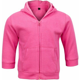 Βρεφική ζακέτα με κουκούλα ροζ Babybugz 302d0b0c7c3