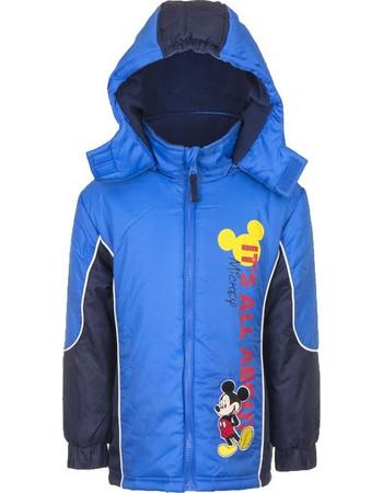 Παιδικό Μπουφάν Χρώματος Μπλε Mickey Disney HO1031 72fb629c793