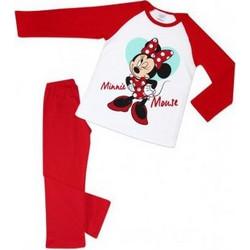 4de1e162673 Minerva Παιδική Πιτζάμα Disney Minnie Mouse Κόκκινο