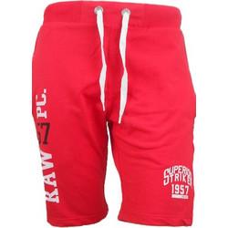Paco + co Men s Sweat Short Pants 8443 Red 95187b91940
