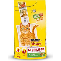 be488f70a282 Purina Friskies για Στειρωμένες Γάτες με Κουνέλι   Λαχανικά 1.5kg