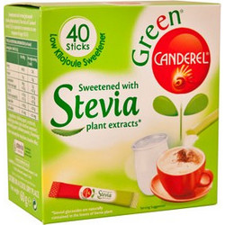 Bian Canderel Green Stevia 40 Sticks