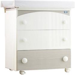 Συρταριέρα - Μπανιέρα Gaia bianco lucido rovere grigio Pali 5e7ce479a01