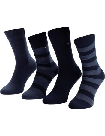 Tommy Hilfiger Ανδρικές Κάλτσες Stripe Box - Τετράδα Navy 2d23c4ed37c