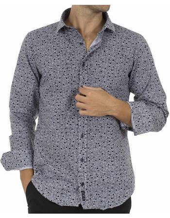 Ανδρικό Μακρυμάνικο Πουκάμισο CND Shirts 2850-4 Μαύρο 81b66c951e8