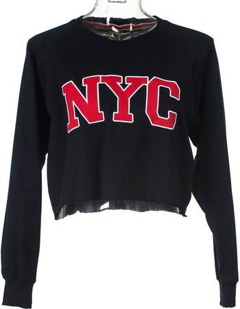 κοντες φουτερ γυναικειες - Γυναικείες Μπλούζες Φούτερ  8d2d8cd35ca