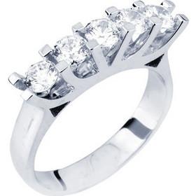 Ασημένιο σειρέ δαχτυλίδι 925 με Swarovski ζιργκόν DSL340A 622ad06fba8