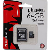 Kingston 64GB microSDXC Class 10 Multi Kit