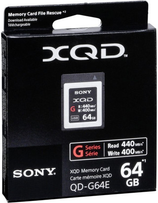 Sony 64GB XQD G 400MB