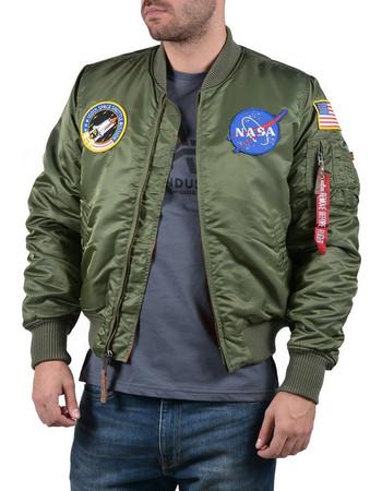 Alpha Industries MA-1 VF Nasa Flight Jacket 166107-01 bfd6148a40d