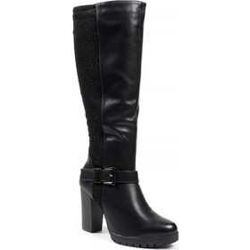 44e76e0b5eb 0605 ID Ψηλοτάκουνες μπότες με αγκράφα - Μαύρες