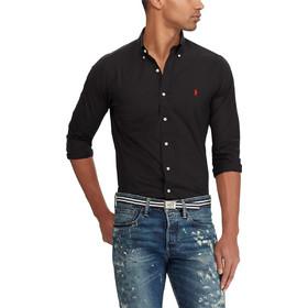 f821568a2c05 Polo Ralph Lauren ανδρικό πουκάμισο Classic Fit Poplin - 710705967007 -  Μαύρο