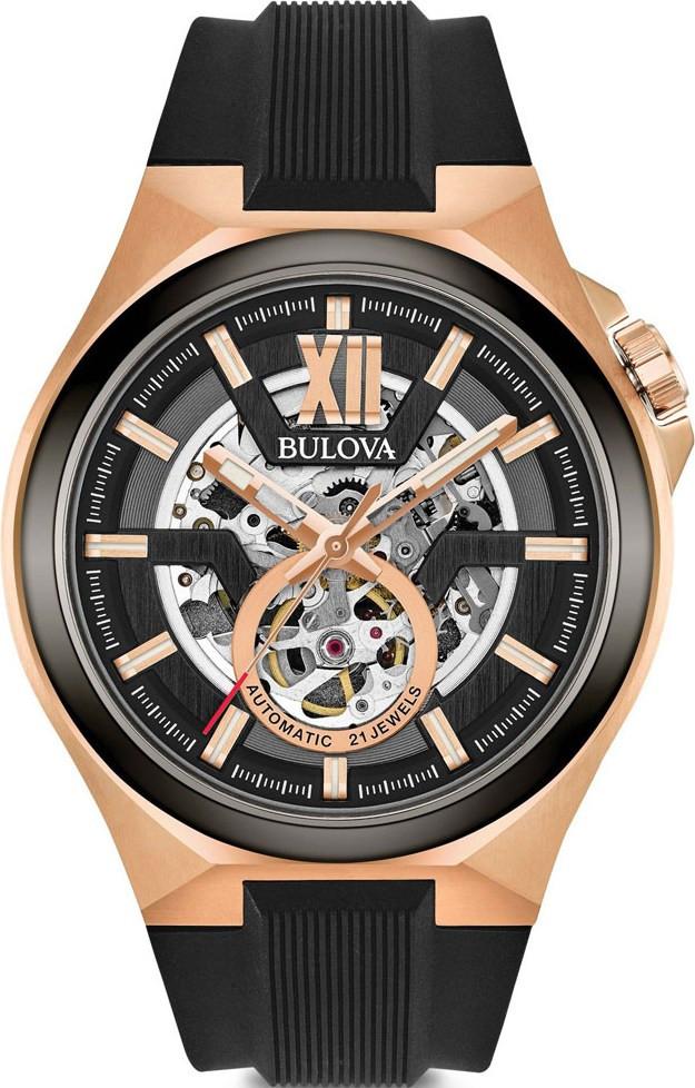 μαυρο ρολο με χρυσο - Ανδρικά Ρολόγια Bulova  864abc3bde7