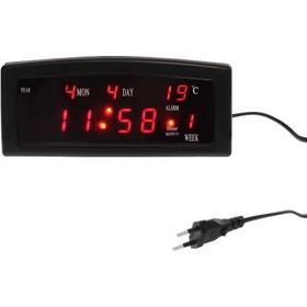 Ψηφιακό LED ρολόι με ξυπνητήρι θερμόμετρο ημερολόγιο επιτραπέζιο OEM 5b9204ed1ae