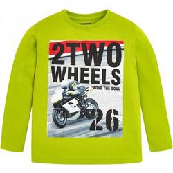 Παιδική Μπλούζα Mayoral 18-04028-083 Λαχανί Αγόρι 8f6e5770967
