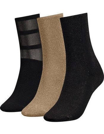Κάλτσες 3 ζευγάρια Giftbox Tommy Hilfiger 483016001 - glitter 30d9ce2ceea