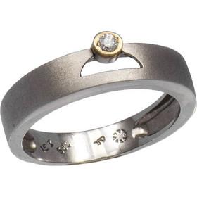 Δαχτυλίδι σειρέ χρυσό 18 καράτια με μπριγιάν 0.51ct f743e9651da