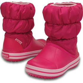 796bbab5109 Crocs shoes Παιδικό μποτάκι Winter Puff Boot Kids candy pink 14613-6X0