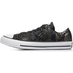 BRAND NEW CONVERSE CT ALL STAR LEATHER SNAKE OX WOMENS SNEAKERS 557981C