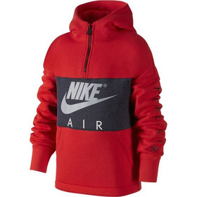 91f4cb8d91e9 Nike B NK AIR Hoodie HZ PO Μπλούζα Φούτερ Red JR 856180-677