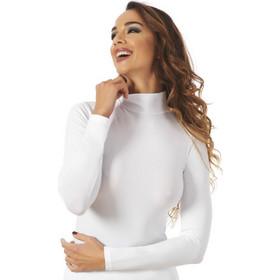 5e3a25d43ef Γυναικεία μπλούζα με ψηλό λαιμό-lupetto Λευκό COTONELLA COTONELLA