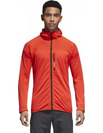 adidas Terrex TraceRocker Hooded Fleece Jacket (CW0793) CW0793 ca681806c17