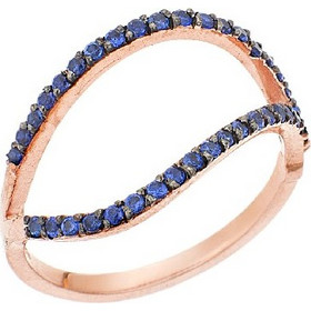 Δαχτυλίδι Χρυσό 9Κ σε Ροζ Χρώμα με Ζιργκόν f2065fec240