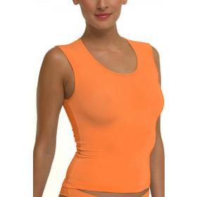 bee9be98cf32 Helios micromodal μπλούζα με φαρδιά ράντα 80694 Πορτοκαλί