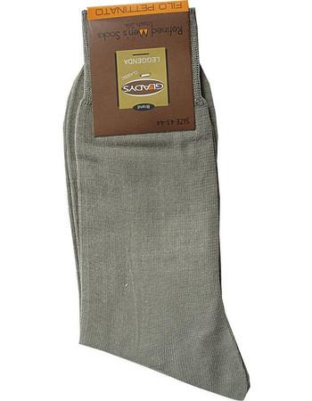 Gladys χακί αντρικές επίσημες κάλτσες Lens 8ef6d9e36e6